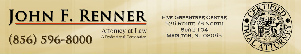 John F. Renner | Attorney at Law | Certified Trial Attorney